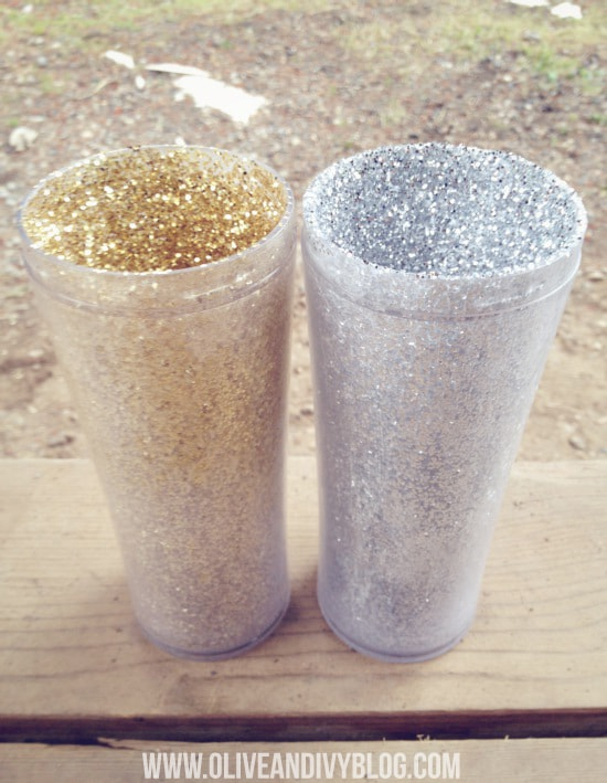 #DIY glitter mug tutorial #crafts