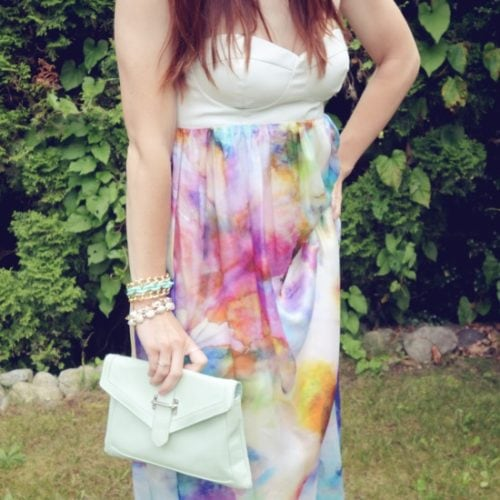 colorful maxi
