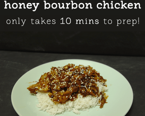 honey bourbon chicken recipe