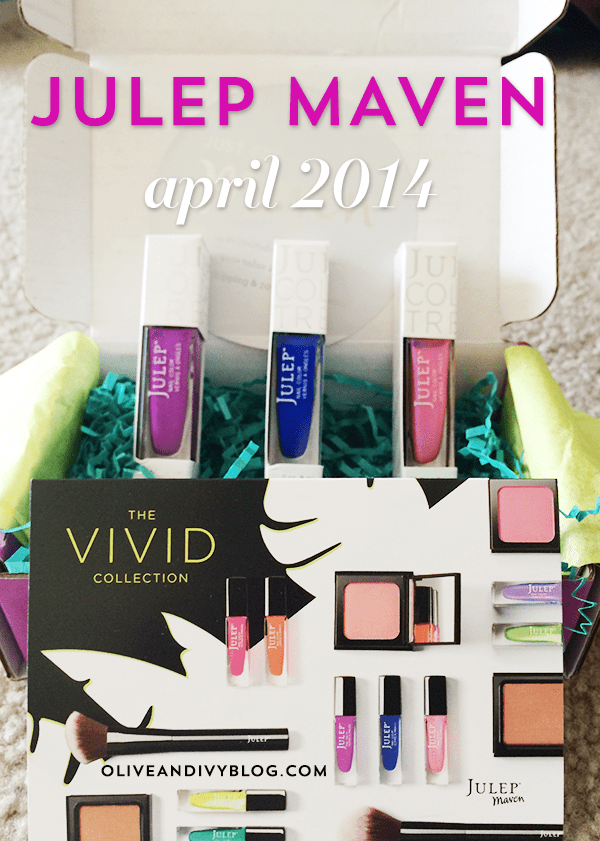 april 2014 julep maven box