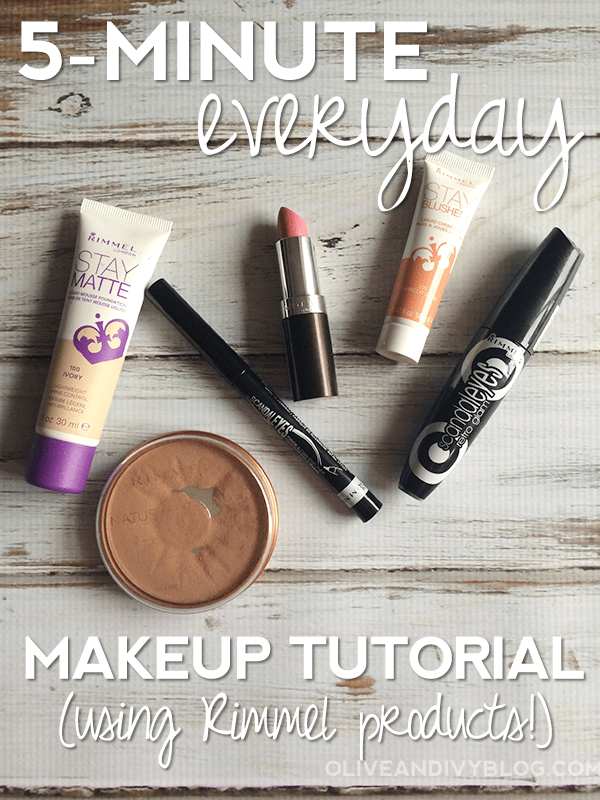5-Minute Everyday Makeup Tutorial