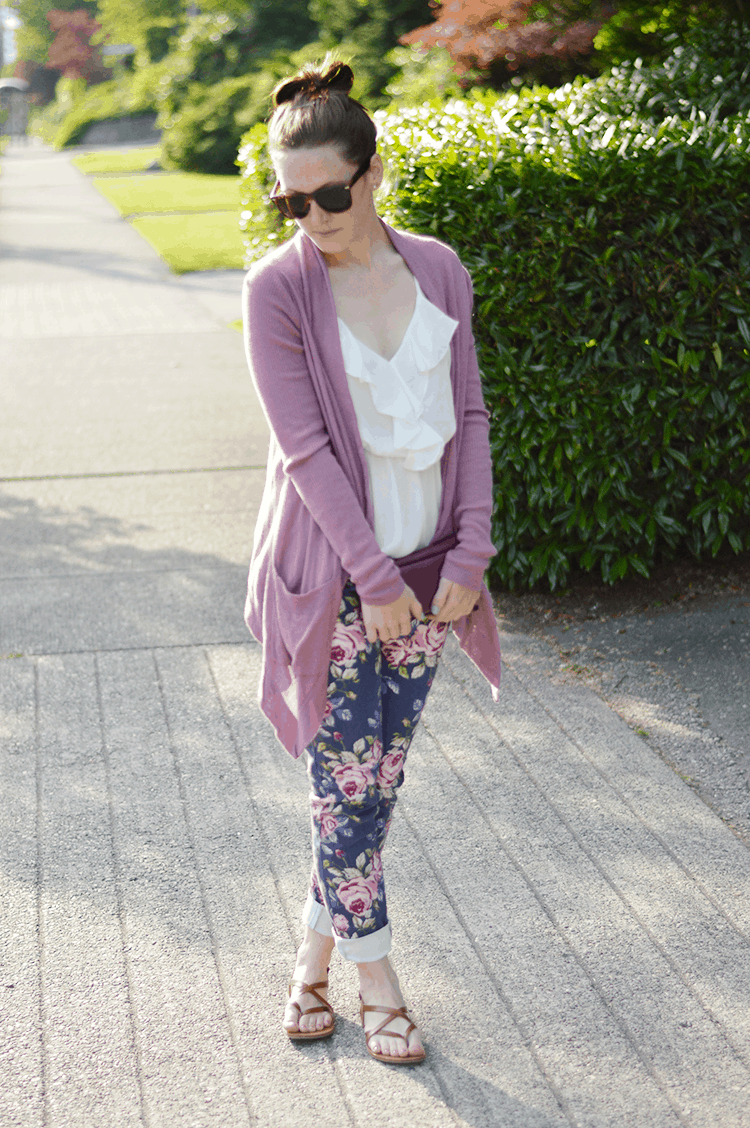 floral pants #summer #style
