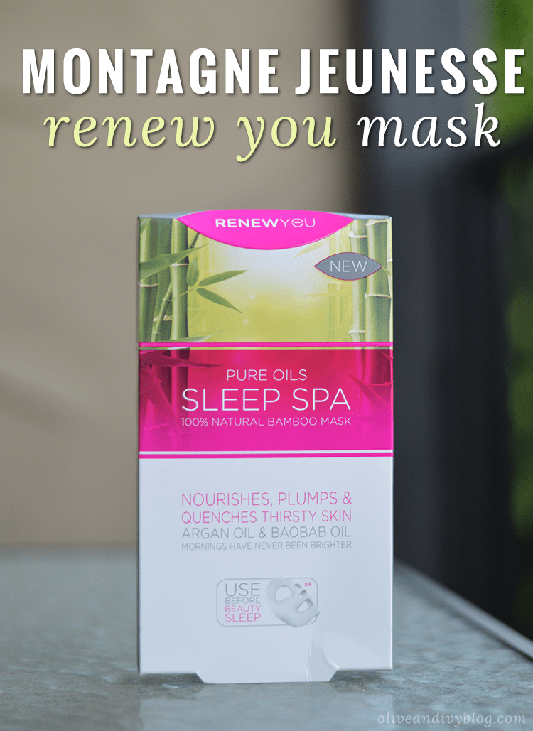 Montagne Jeunesse Renew You Sleep Spa Face Mask