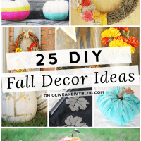 25 DIY Fall Decor Ideas #DIY #fall #decor