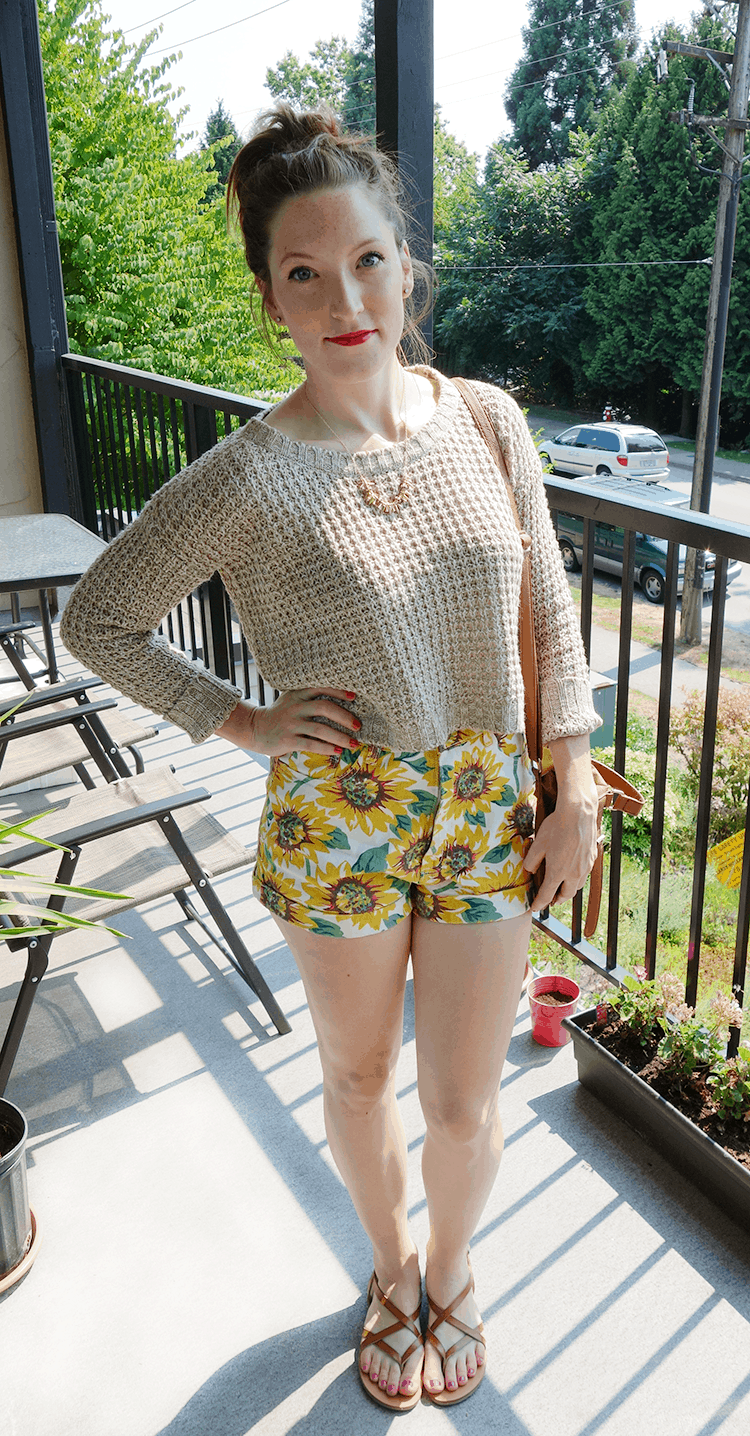 sunflower shorts #summerstyle