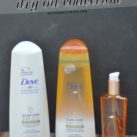 Dove Pure Care Dry Oil Collection #SilkyHairDare #CleverGirls #spon