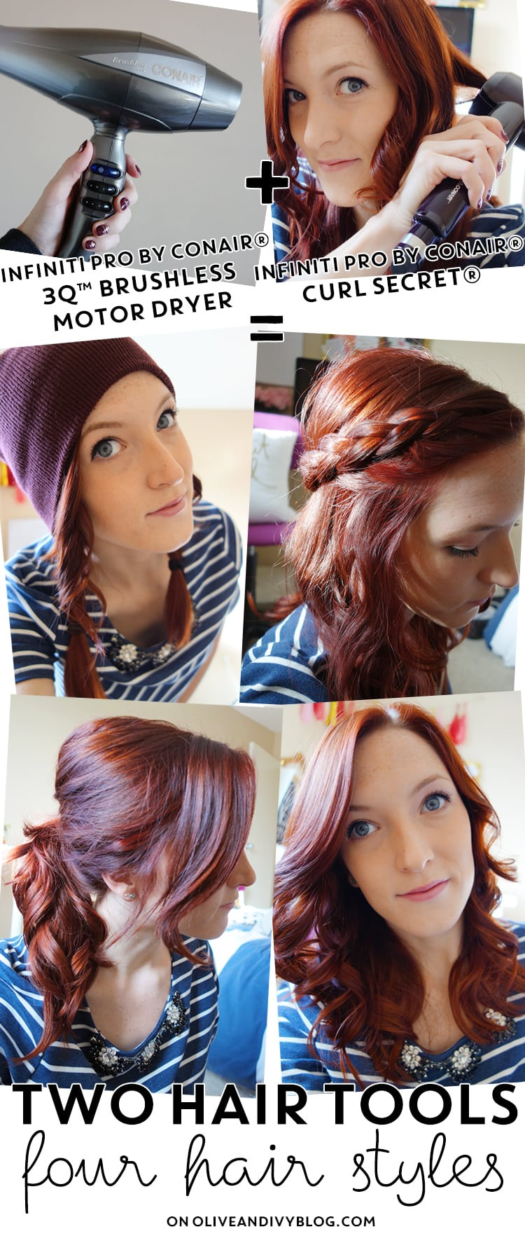 Easy Curly Hairstyles with Conair