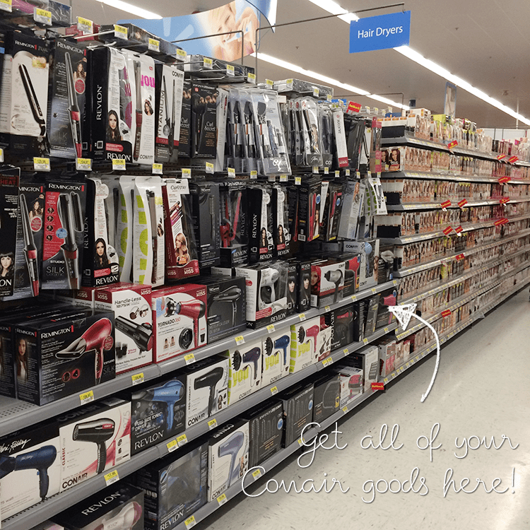Find all of your Conair products at Walmart! #HeartMyHair #ad