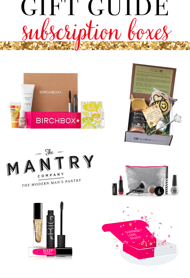 Gift Guide | Subscription Boxes