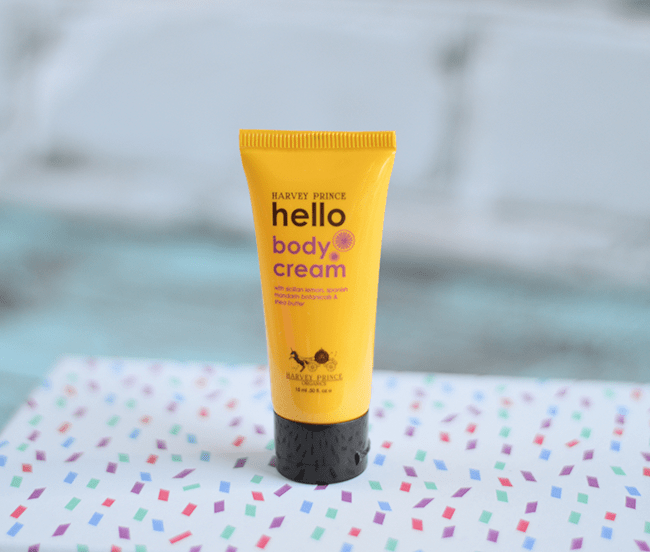 Birchbox January 2015 - Harvey Prince Hello body cream