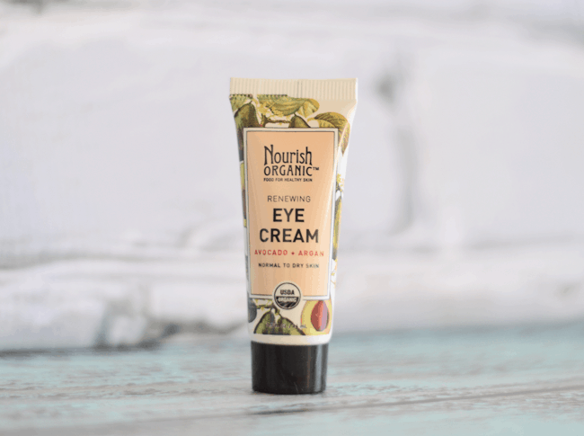 Ipsy January Review - Nourish Organic Renewing Eye Cream #beauty