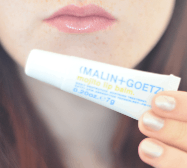 Ipsy January Review - Malin + Goetz Mojito Lip Balm #beauty