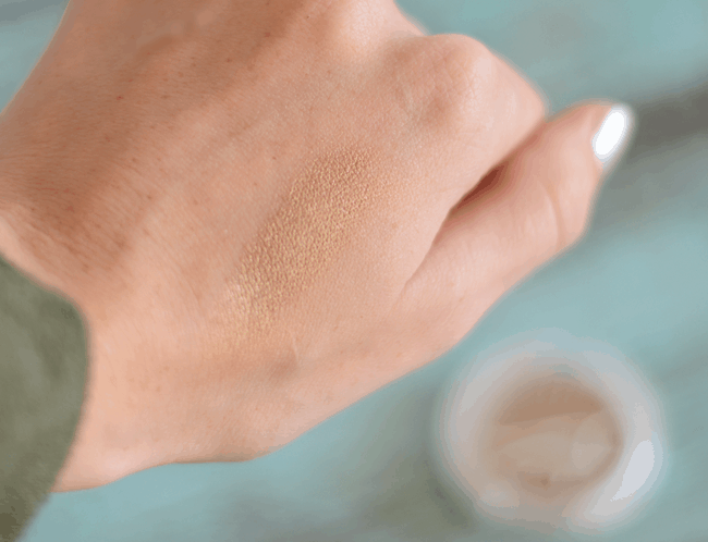 Ipsy January Review - Natural Mineral Coconut Eye Shadow in Treasure #beauty
