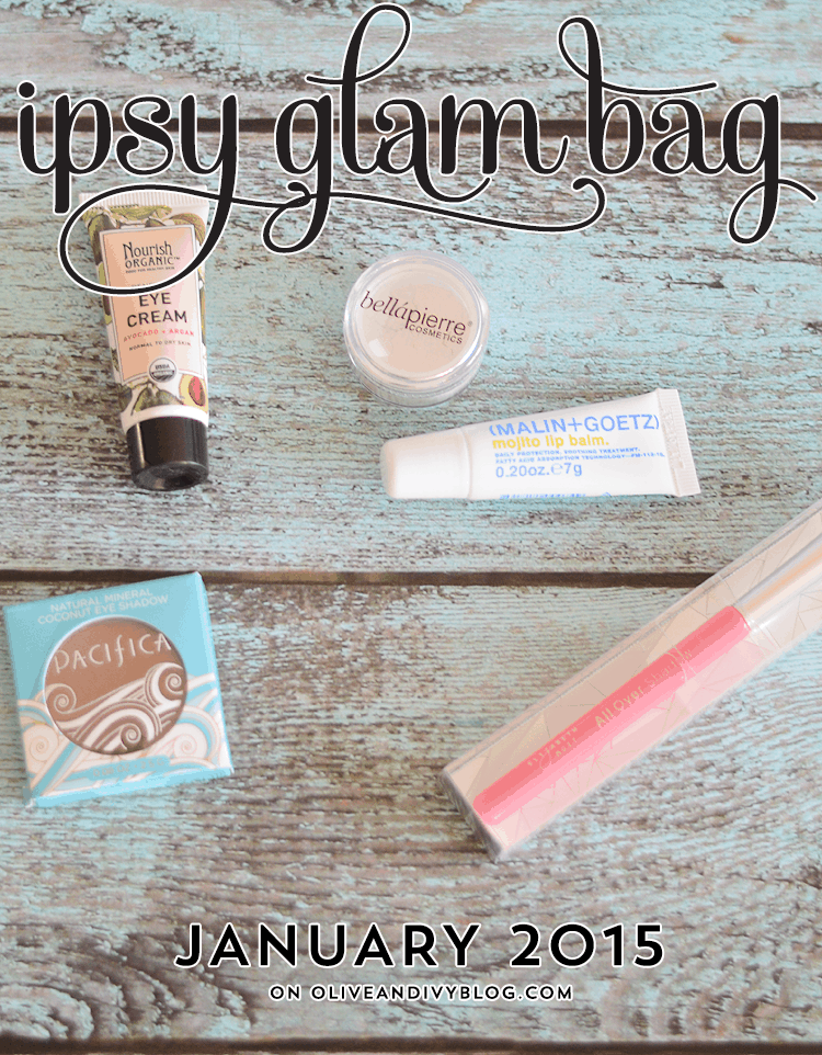 Ipsy Glam Bag Review – January 2015