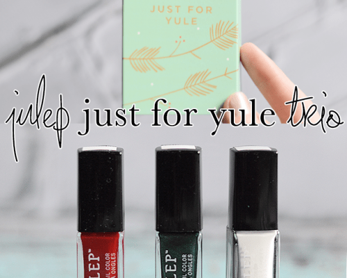 Julep Just For Yule Trio swatches #beauty #nails