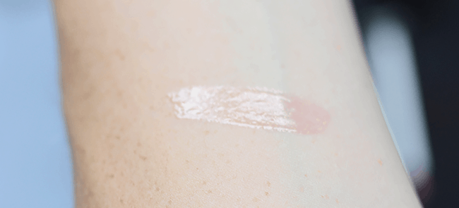 Make Up For Ever x Fifty Shades of Grey - Give In To Me Kit | Lab Shine gloss Shimmering Indian Pink D14 swatch