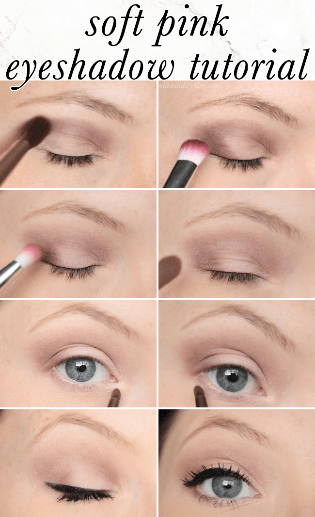 Gorgeous and simple soft pink eyeshadow tutorial using the Too Faced Chocolate Bar palette