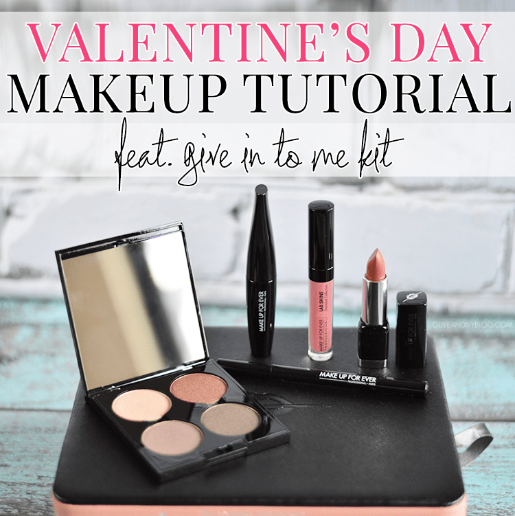 Such a gorgeous, glowing Valentine's Day makeup tutorial!
