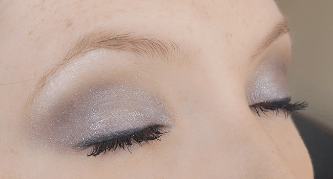 Sparkly purple smokey eye #BeautyQtips #CleverGirls #sp