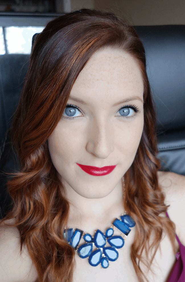 Clarins Day To Night Look (15 Minute Makeup) #ClarinsInstantBeauty #sp