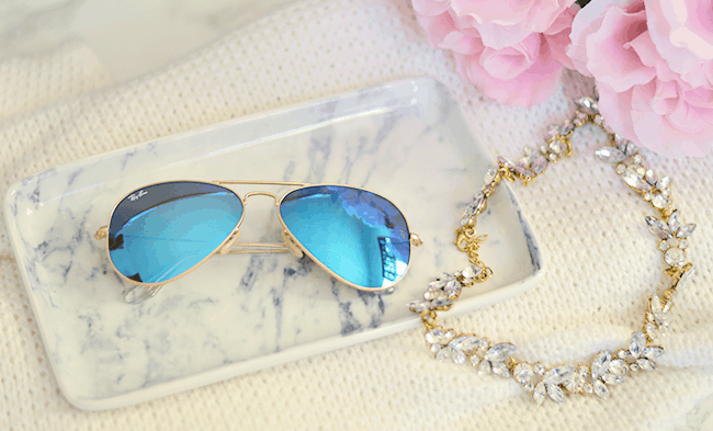 Blue Ray-Bans.. my current favorite!!