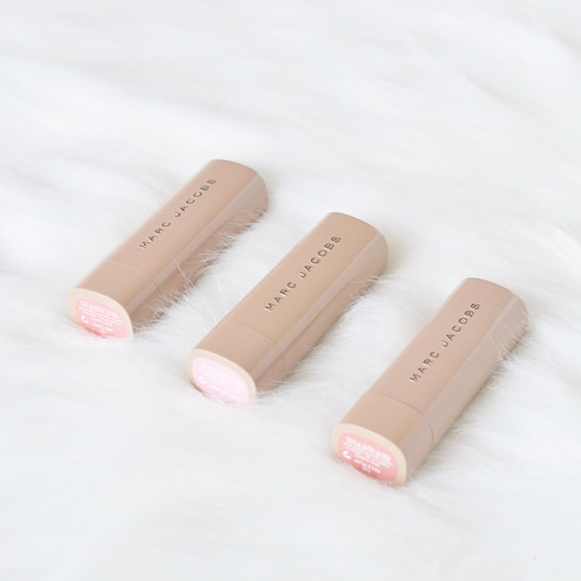 The Marc Jacobs New Nudes Sheer Lip Gels are seriously amazing. The most perfect nude lipsticks that suit tons of different skin tones!