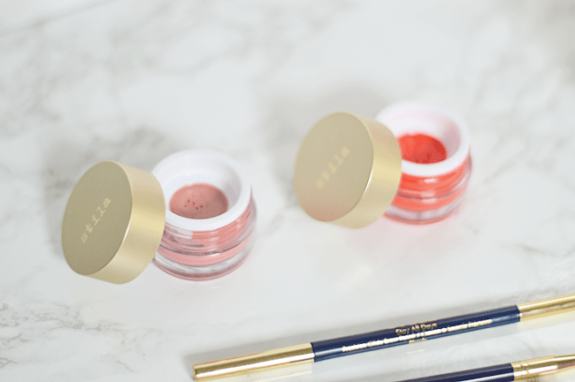 The Stila Aqua Glow Watercolor blushes are so gorgeous and blend out perfectly!   oliveandivyblog.com