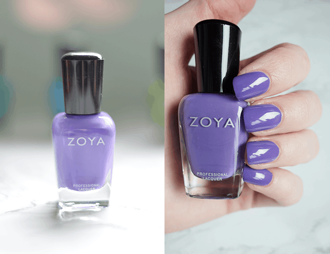 OBSESSED with Zoya Serenity. Will wear this all year long!   oliveandivyblog.com