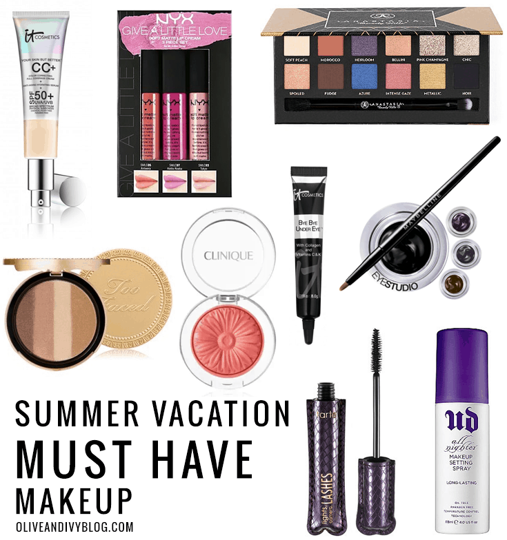 Makeup Ideas must have makeup pics : Summer Vacation Must-Have Makeup | ULTA | Olive & Ivy