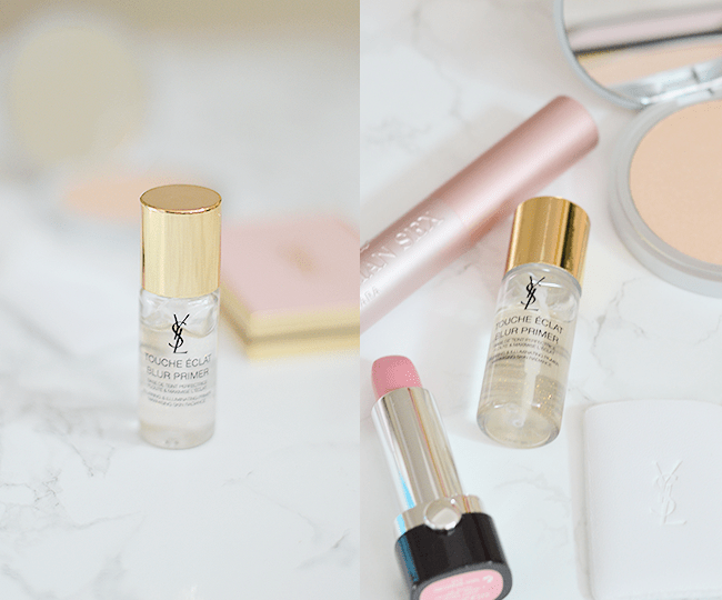 The YSL Touche Eclat Blur Perfector & Blur Primer are the most gorgeously packaged products! #YSLToucheEclat | oliveandivyblog.com