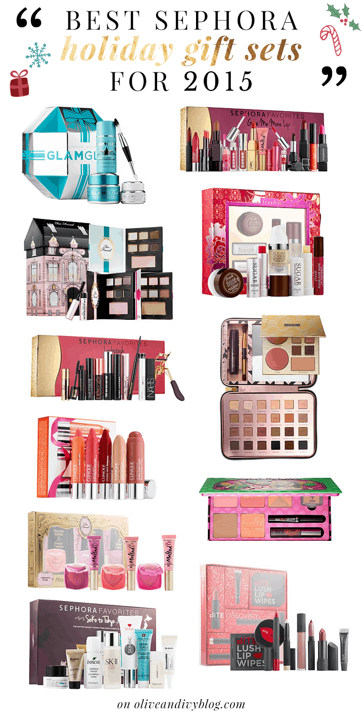 Best Sephora Gifts Your Ultimate Guide to the Best Sephora Gifts of November 21, Too Faced Under the Christmas Tree Breakaway Face & Eye Set. from bloggerforlife.ml $ Drybar Glitter Gang.