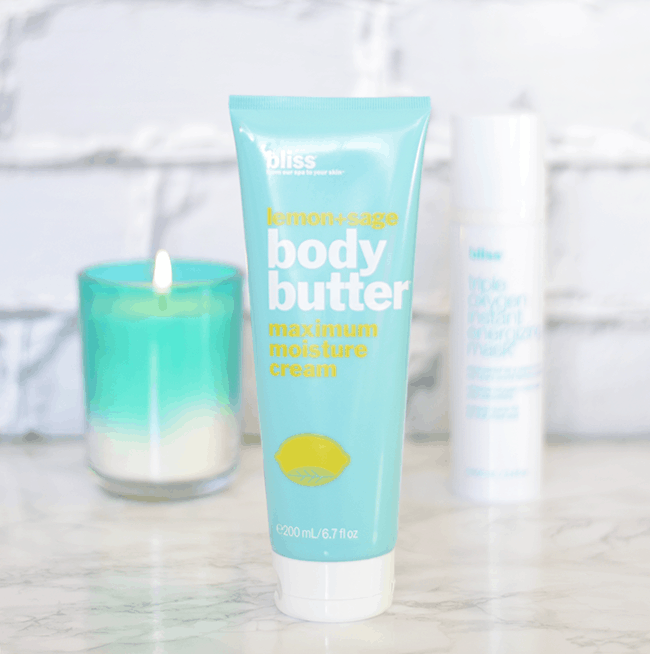 Bliss Lemon & Sage Body Butter.. this stuff smells seriously divine! | oliveandivyblog.com