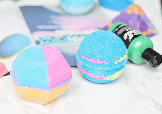 LUSH bath bombs and bubble bars for fall 2015 | The Experimenter & Intergalactic | oliveandivyblog.com