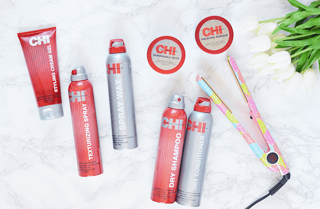Some of my favorite CHI products! The Ultra CHI straightener is the. bomb. #CHIFallSleek #CHIhaircare #thebeautycouncil | oliveandivyblog.com