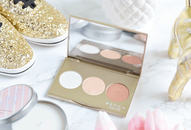 The BECCA Champagne Glow Palette is limited edition so GRAB YOURS QUICK! | oliveandivyblog.com