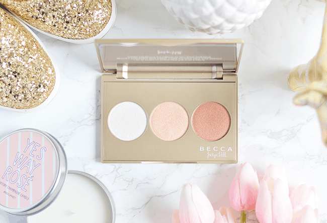 BECCA Champagne Glow Palette | Review, Swatches & GIVEAWAY!