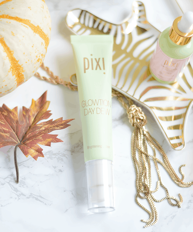 If you have dull skin, the Pixi Glowtion Day Dew will be a game changer for you! | oliveandivyblog.com