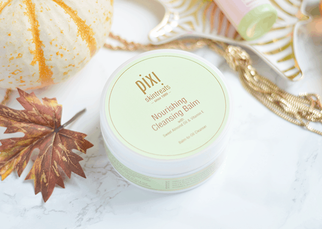 Your makeup will literally MELT right off with the Pixi Skintreats Nourishing Cleansing Balm! | oliveandivyblog.com
