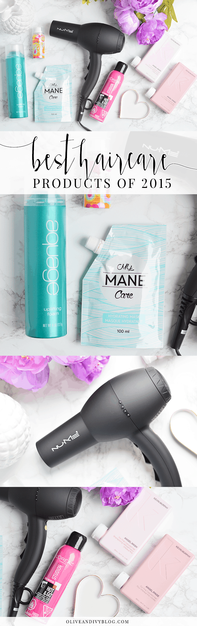 Best haircare products of 2015! | oliveandivyblog.com