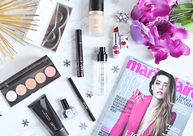 Holiday beauty must-haves #MarieClaire #ad | oliveandivyblog.com