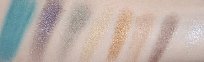 Sephora Collection Ombre Obsession Eye Palette swatches   oliveandivyblog.com