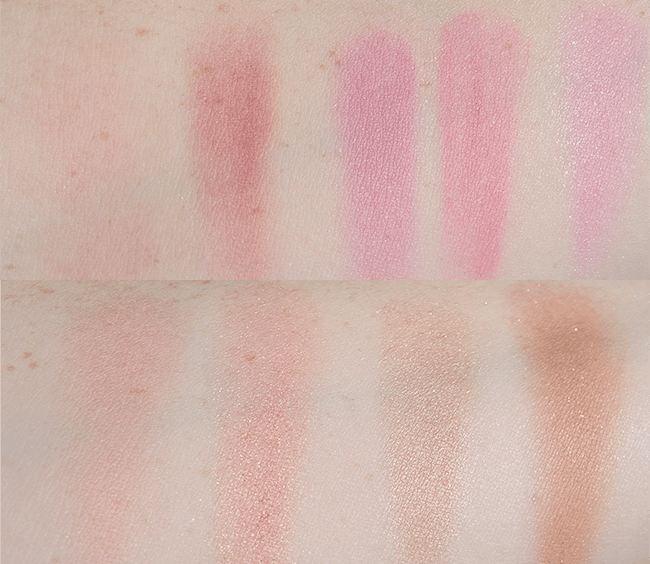 Sephora Collection Ombre Obsession Face Palette swatches   oliveandivyblog.com