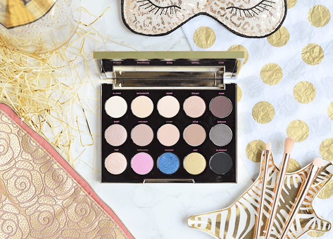Urban Decay x Gwen Stefani Eyeshadow Palette review & swatches | oliveandivyblog.com