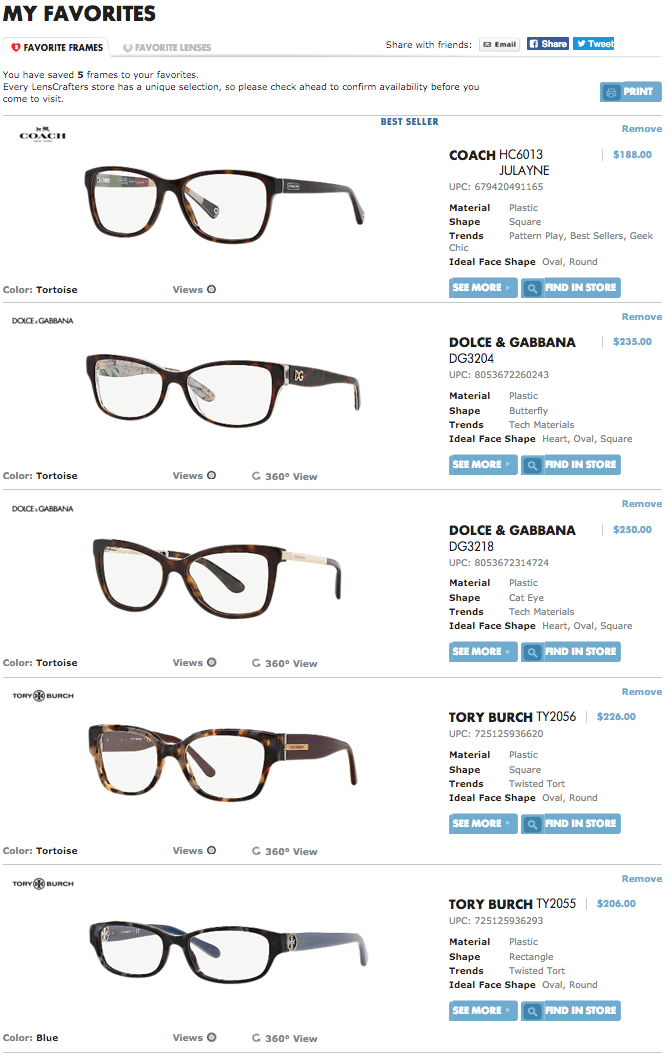 How to choose glasses with LensCrafters! #LensCraftersCrowd #ad | oliveandivyblog.com