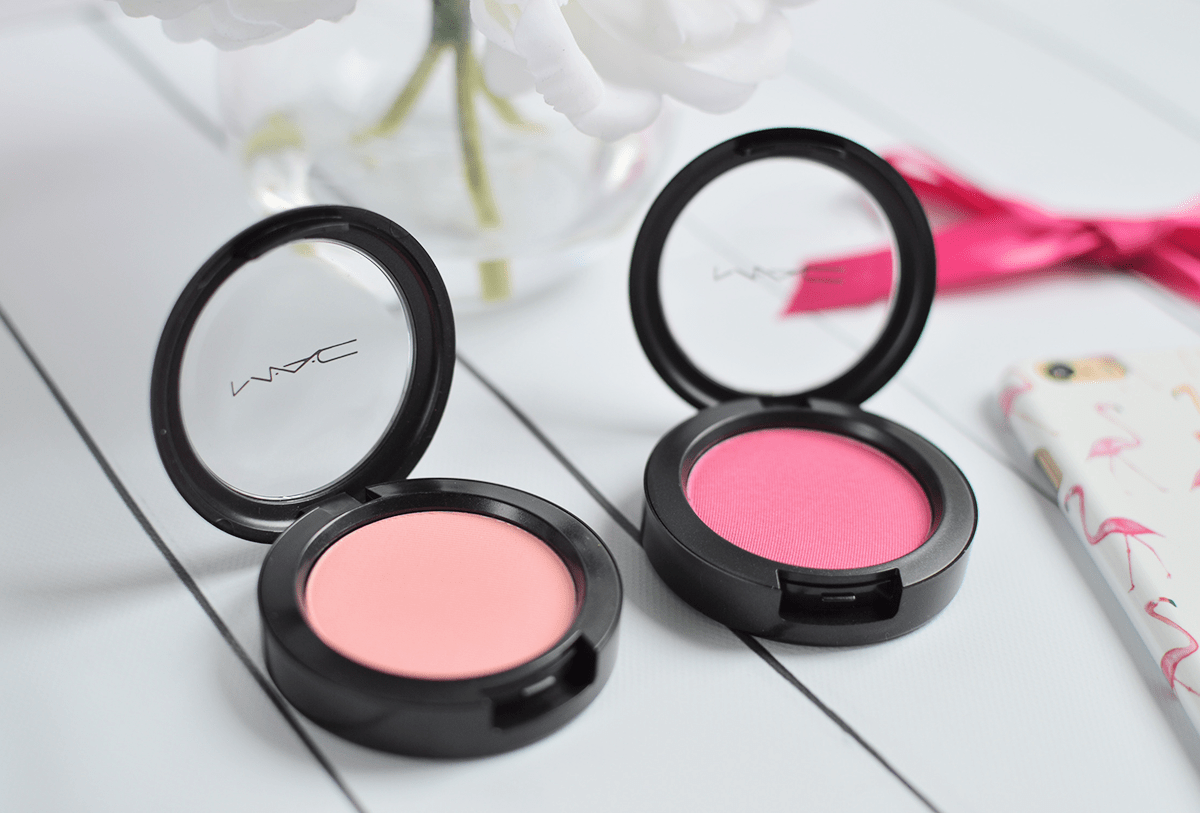 MAC Flamingo Park Collection // Powder Blush in What I Fancy and Let's Be Friends | oliveandivyblog.com