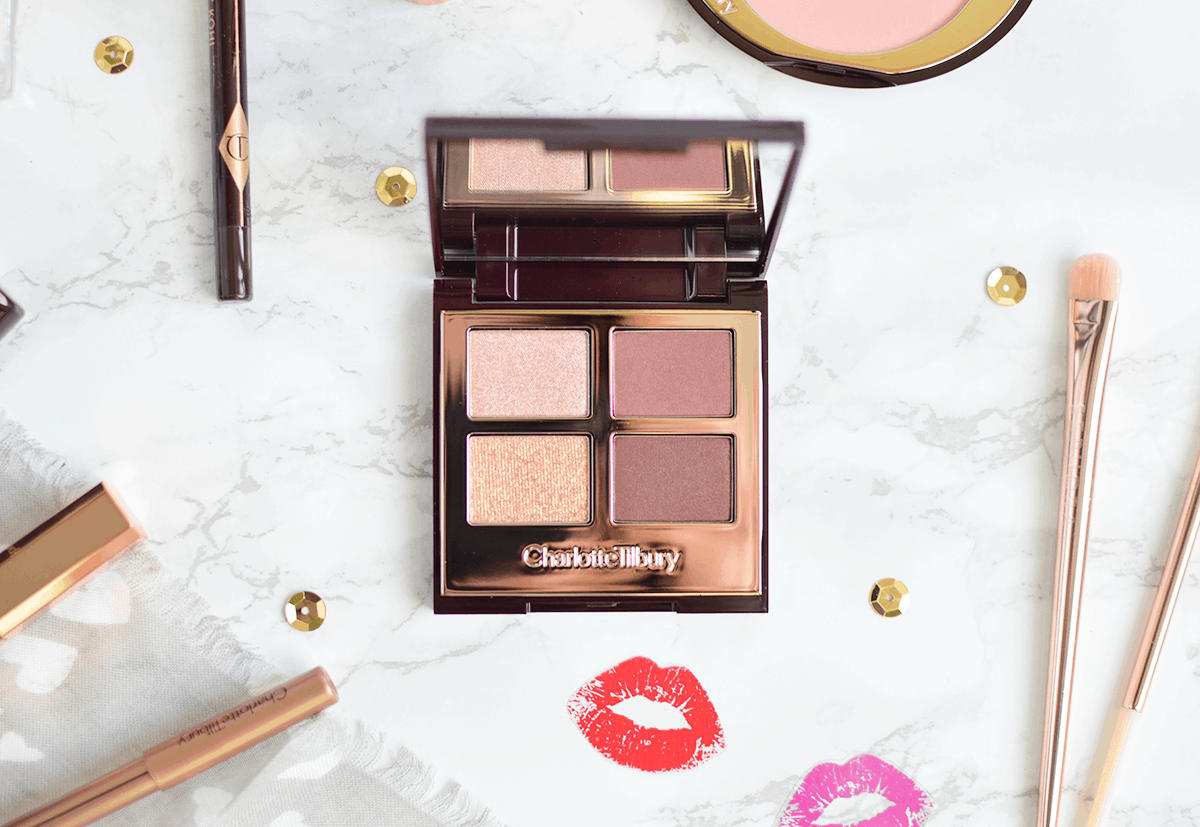 Charlotte Tilbury The Vintage Vamp eyeshadow palette (and makeup look!) | oliveandivyblog.com