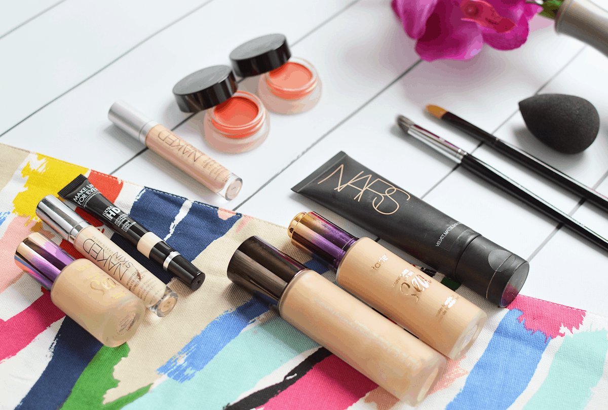 Color Correcting 101: how to cover dark circles (and what products work BEST)! | oliveandivyblog.com