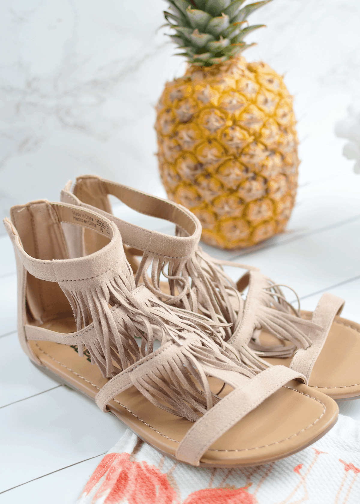 Womens sandals at payless - Payless Fringe Sandals