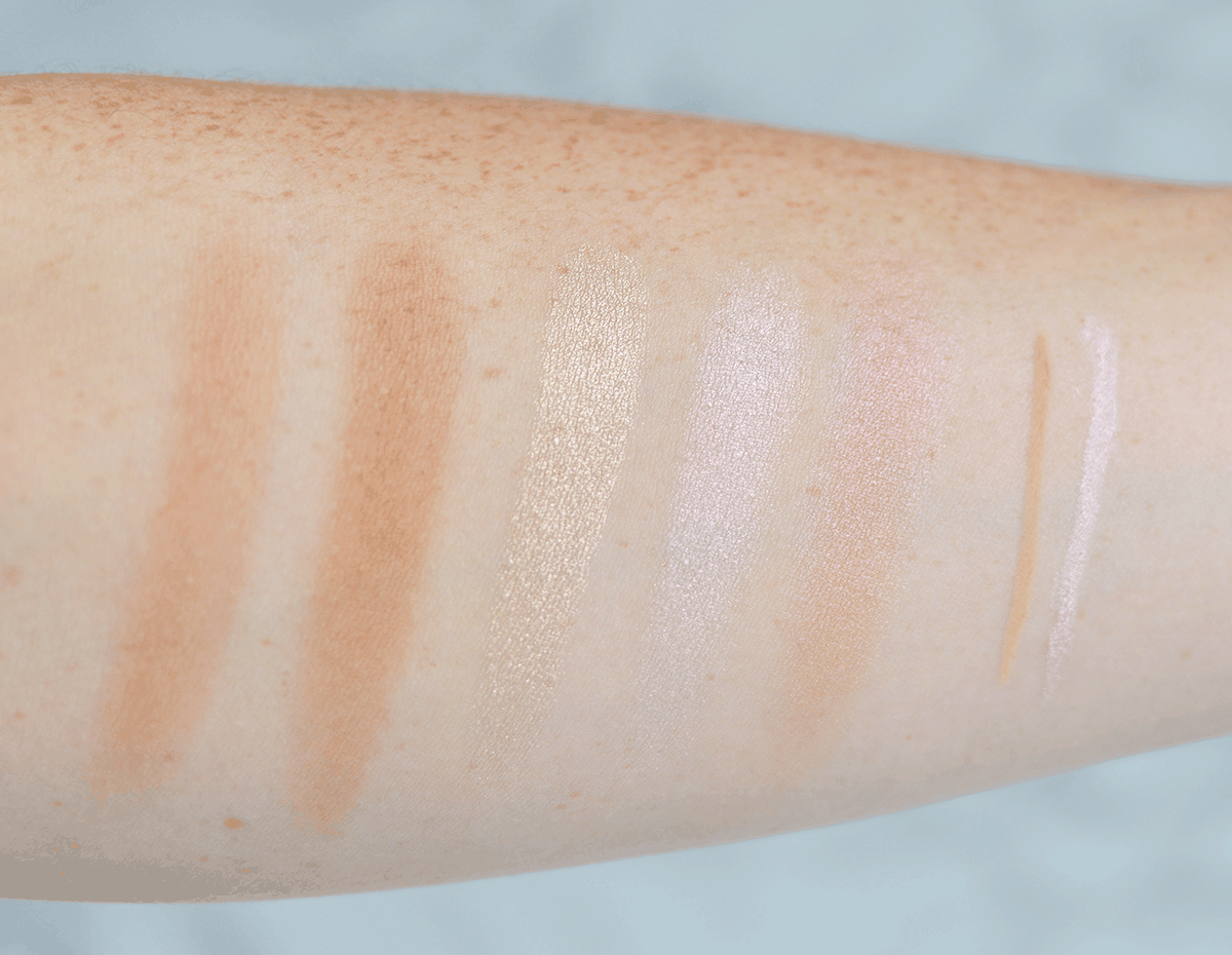 Urban Decay summer 2016 collection swatches   oliveandivyblog.com