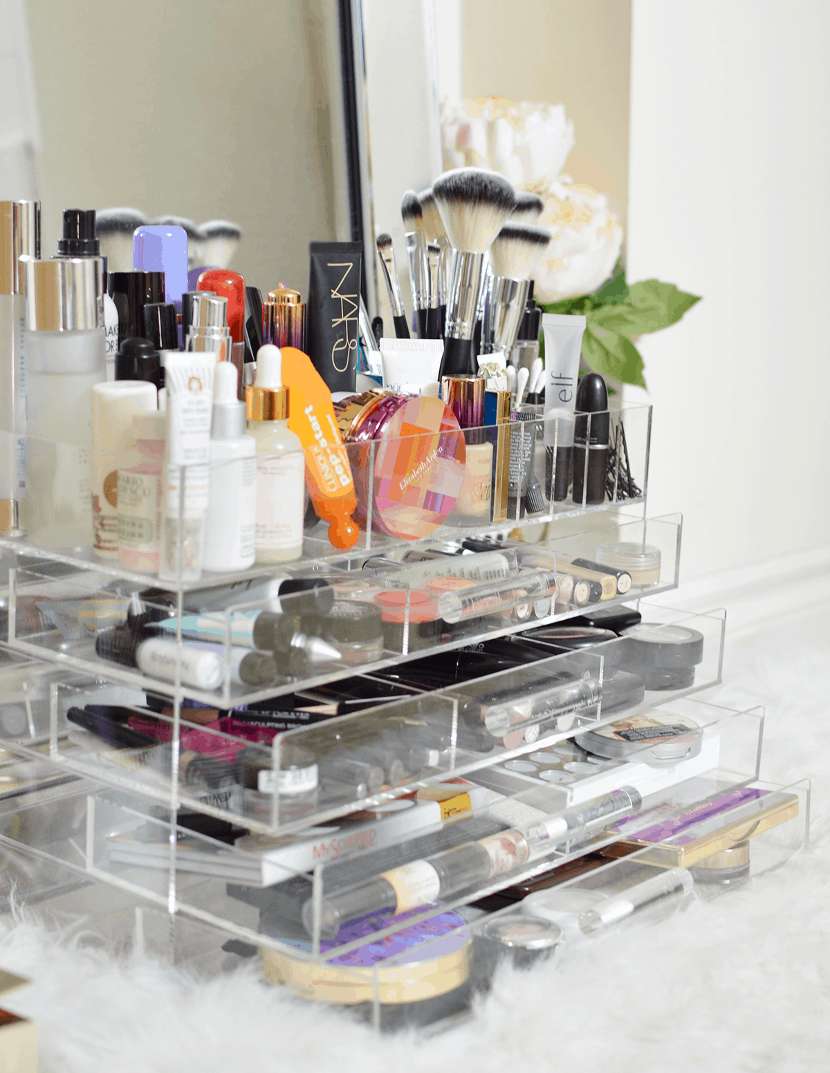 How To Organize Your Makeup Collection Oliveandivyblog Com